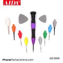 Aida AD-9908 Screwdriver Repair Set (2 stuks)