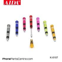Aida K-8107 Screwdriver Repair Set (2 stuks)