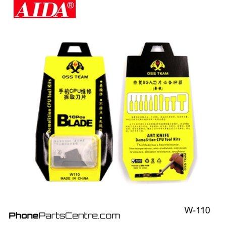 Aida Aida W-110 Razor Set (2 pcs)