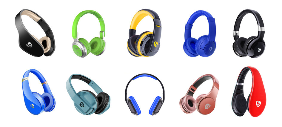 More brands headphones ...