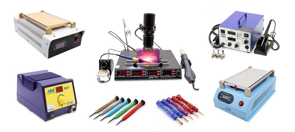 Repair machines & tools