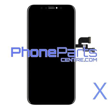LCD scherm met touchscreen voor iPhone X