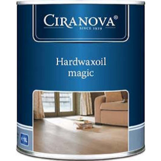 Ciranova Hardwaxoil Magic Black 8574 (Zwart)