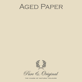 Pure & Original Fresco Kalkverf Verouderd Papier