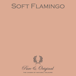 Pure & Original Fresco Kalkverf Zachte Flamingo