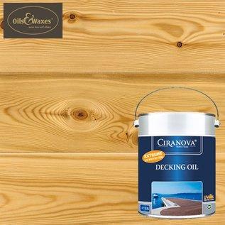 Ciranova Decking Oil Clear 7630 (Kleurloos)