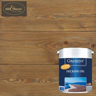 Ciranova Decking Oil Dark Grey 7729 (Donker Grijs)