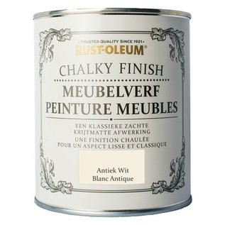 Rust-Oleum Chalky Finish Meubelverf Antiek Wit (Antique White)