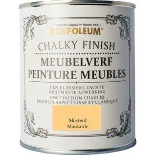 Rust-Oleum Chalky Finish Meubelverf Mosterd (Mostard)