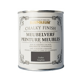 Rust-Oleum Chalky Finish Meubelverf Grafiet