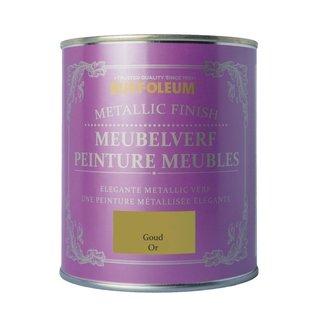 Rust-Oleum Metallic Finish Meubelverf Goud (Gold)