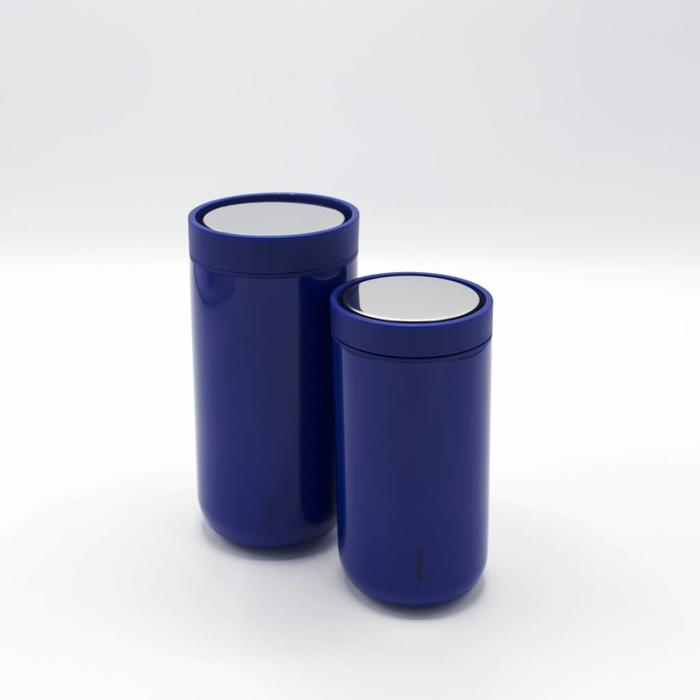 Stelton to-go-click thermosbeker (ultramarine)