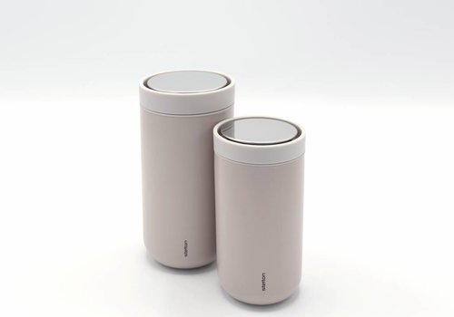 Stelton Stelton to-go-click thermosbeker (soft nude)