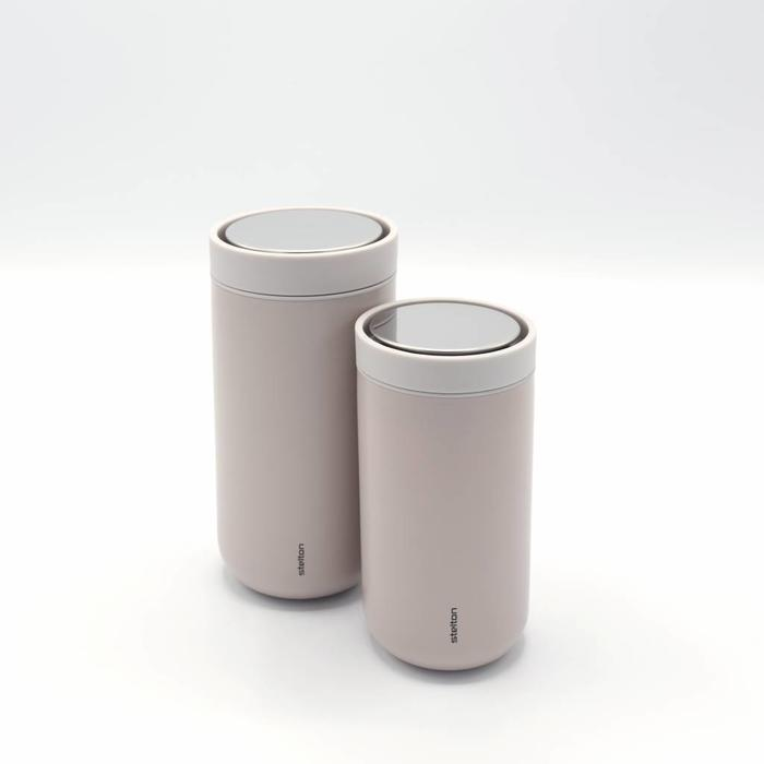 Stelton to-go-click thermosbeker (lavendel)