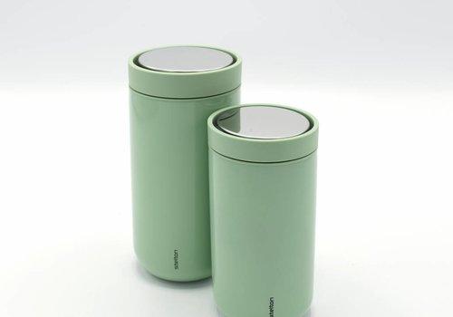 Stelton Stelton to-go-click thermosbeker (licht groen)