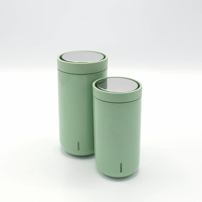 Stelton to-go-click thermosbeker (licht groen)