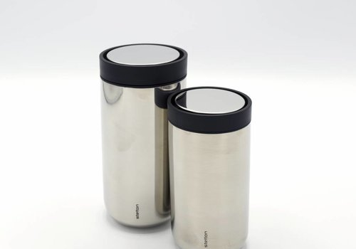 Stelton Stelton to-go-click thermosbeker (staal)