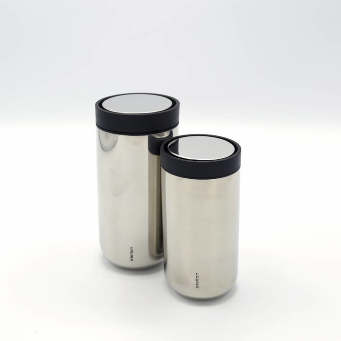 Stelton to-go-click thermosbeker (staal)
