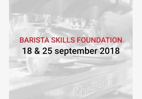 Cuperus Barista Skills Foundation 18 & 25/09