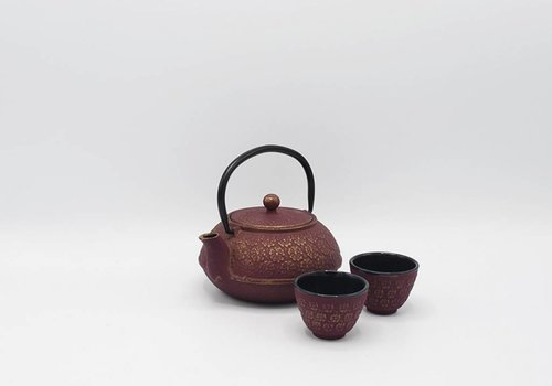 Bredemeijer Asia Shanghai giftset (Rood/goud)