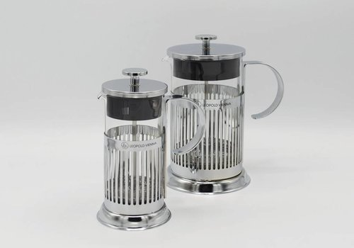 Leopold Vienna Leopold Vienna - French Press (Chroom)