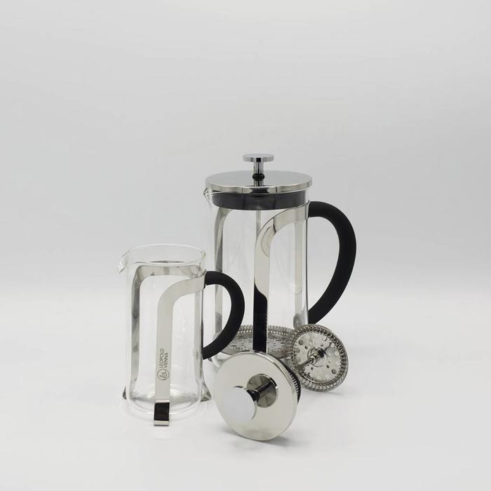 French Press (Staal/glas)