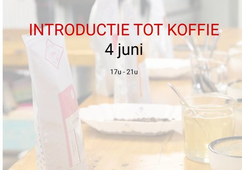 Cuperus Introductie tot koffie 4 juni