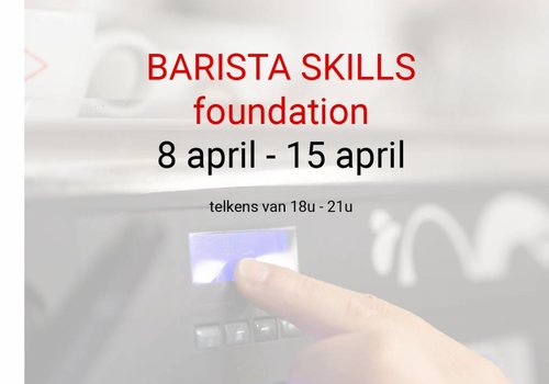 Cuperus Barista skills foundation 8 & 15 april