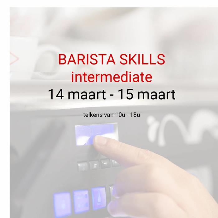 BARISTA SKILLS INTERMEDIATE