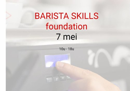 Cuperus Barista Skills Foundation 7 mei