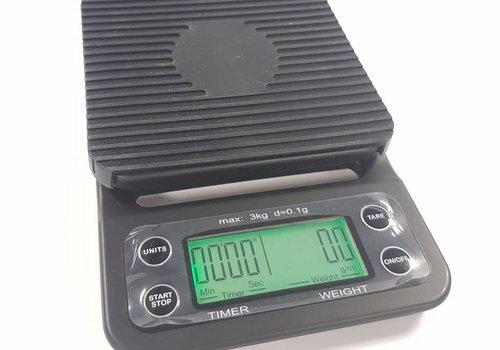 Edo Edo barista scale met timer