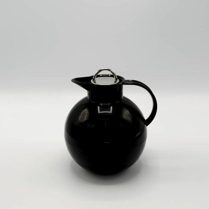 Kugel (Zwart glans met stalen dop)