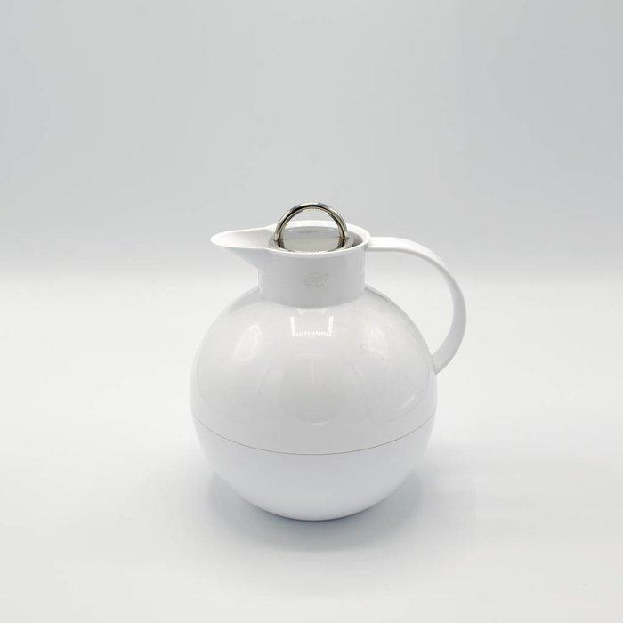 Kugel (Wit glans met stalen dop)