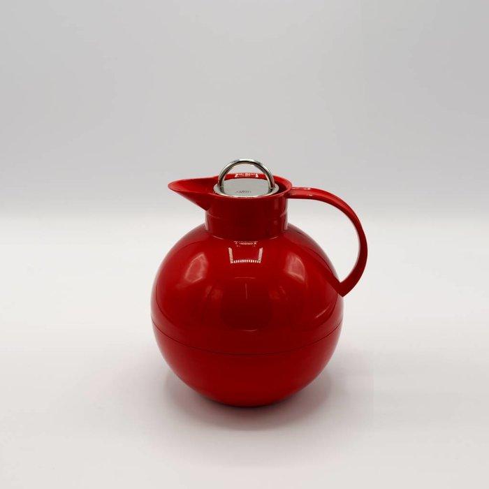Kugel (Rood glans met stalen dop)