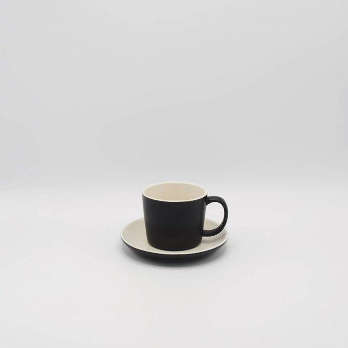 La Cafetière - Barcelona tas & ondertas (zwart)