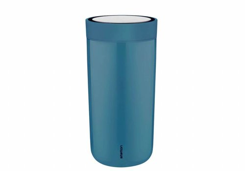 Stelton Stelton to-go-click thermosbeker (dusty blue)