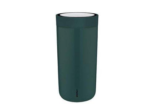 Stelton Stelton to-go-click thermosbeker (pine green)