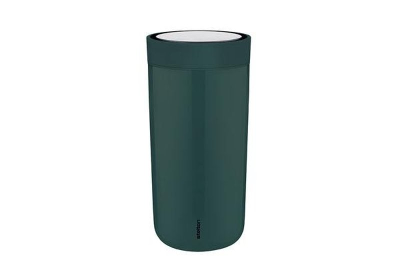 Stelton to-go-click thermosbeker (pine green)