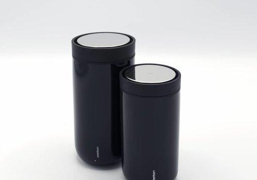 Stelton Stelton to-go-click thermosbeker (metallic zwart)