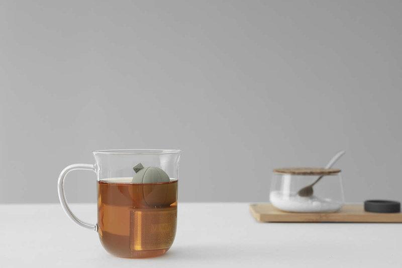 Drijvend thee-ei (Beige)