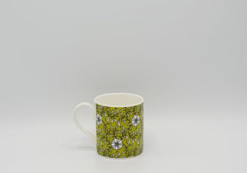 Roy Kirkham Roy Kirkham - Primrose Bordier tas met bloemen (Groen)