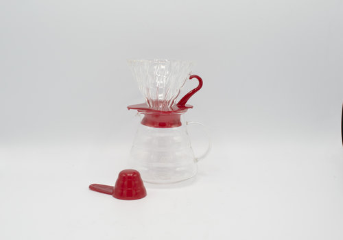 Hario Hario Coffee Brewing Kit (Rood)