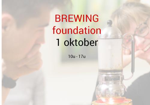 Cuperus Brewing foundation: 1 oktober - 10u tot 17u