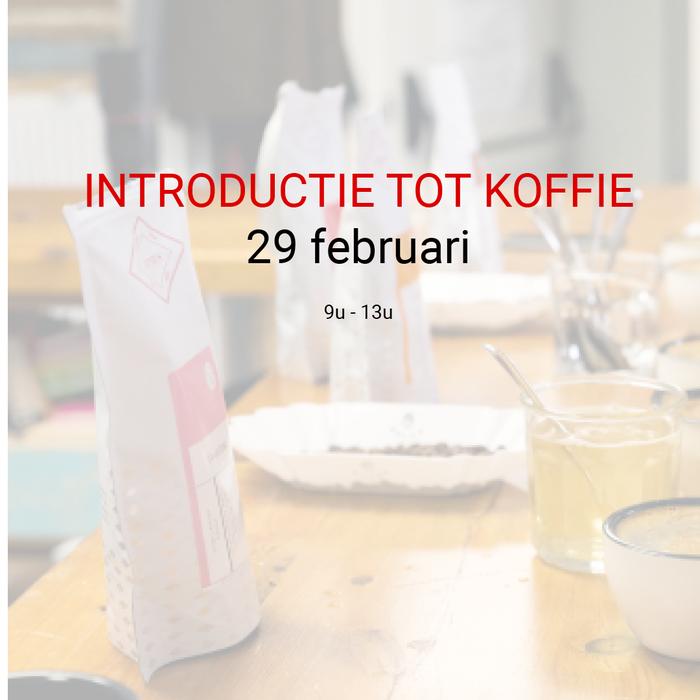 Introductie tot koffie - 29 februari - 9u tot 13u