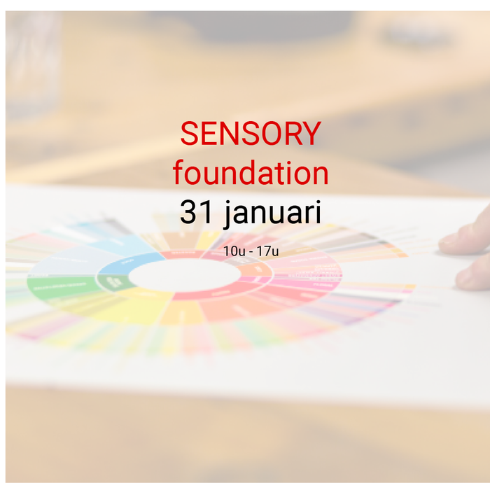 Sensory foundation: 31 januari - 10u tot 17u