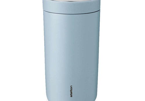 Stelton Stelton to-go-click thermosbeker staal (cloud)