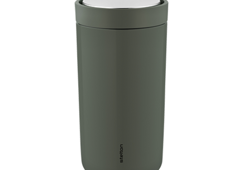 Stelton Stelton to-go-click thermosbeker staal (dark forest)