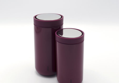 Stelton Stelton to-go-click thermosbeker (burgundy)