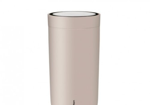 Stelton Stelton to-go-click thermosbeker staal (mat nude)