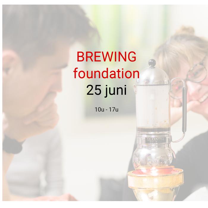 Brewing foundation: 25 juni - 10u tot 17u